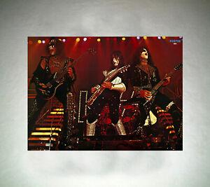 KISS-POSTER-LIVE-LOVE-GUN-77-78-in-a2-Reissue-dall-039-inizio-del-2000er-NUOVO-NO-LP