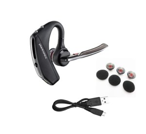 Genuine POLY Voyager 5200 Bluetooth Mobile Headset with 4 Mic Noise Cancellation