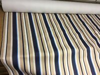 SUPER LUXURIOUS CURTAIN UPHOLSTERY FIRE PROOF NAVY FABRIC BY PANAZ 10 METRES