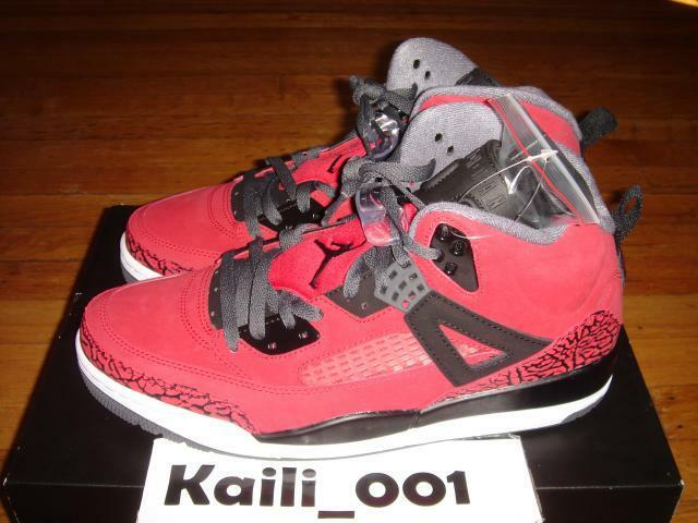 Nike Air Jordan Spizike Size 11.5 Red 315371-601 B