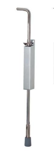 Türfeststeller KWS 1048.02 silber für Türen bis 80 kg innen /& außen 250 mm Hub