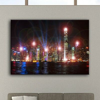 LED picture wall lighting image living room wall lamp decoration mural Skyline