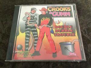 Crooks-amp-GUMM-zeebs-Bubble-Gum-Disc-Double-Bubble-Trouble-vintage-scellee-1995