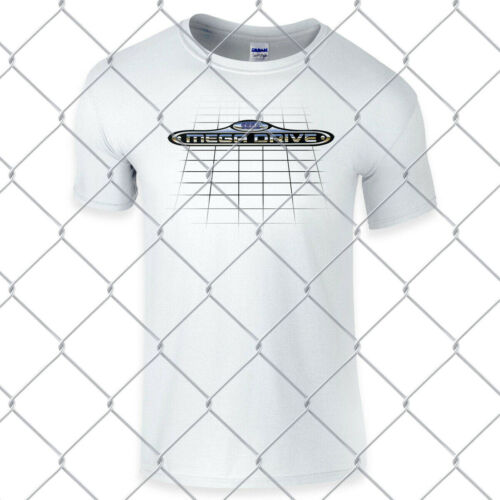 SEGA MegaDrive Retro Super high quality premium white regular T Shirt