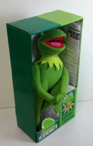 Vintage Showtime Kermit the Frog-Muppets-Imported-Boxed-FREE S/&H STKFTY-FW