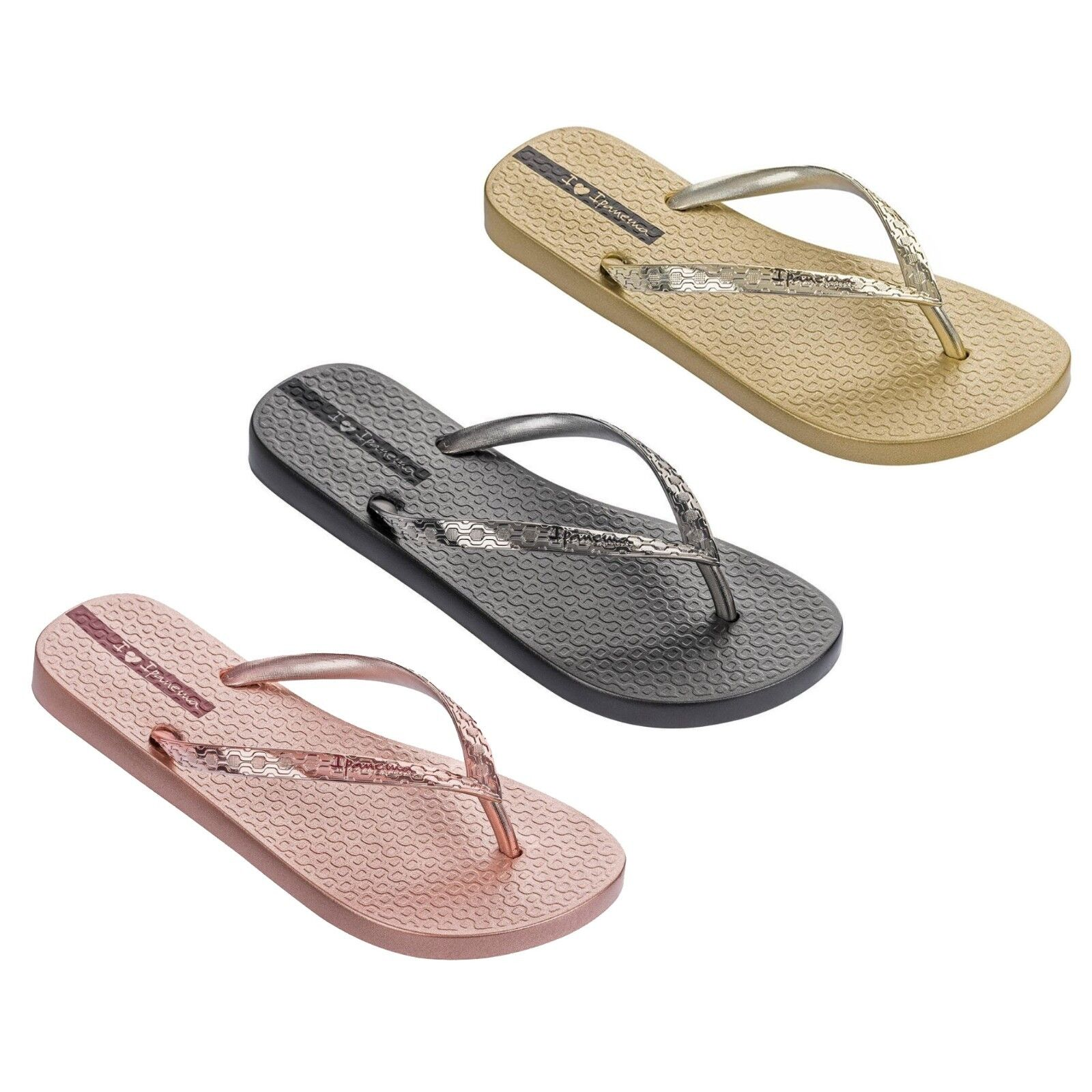 IPANEMA womens flip flops Glam Fem 82398 Limited Edition MADE IN BRAZIL