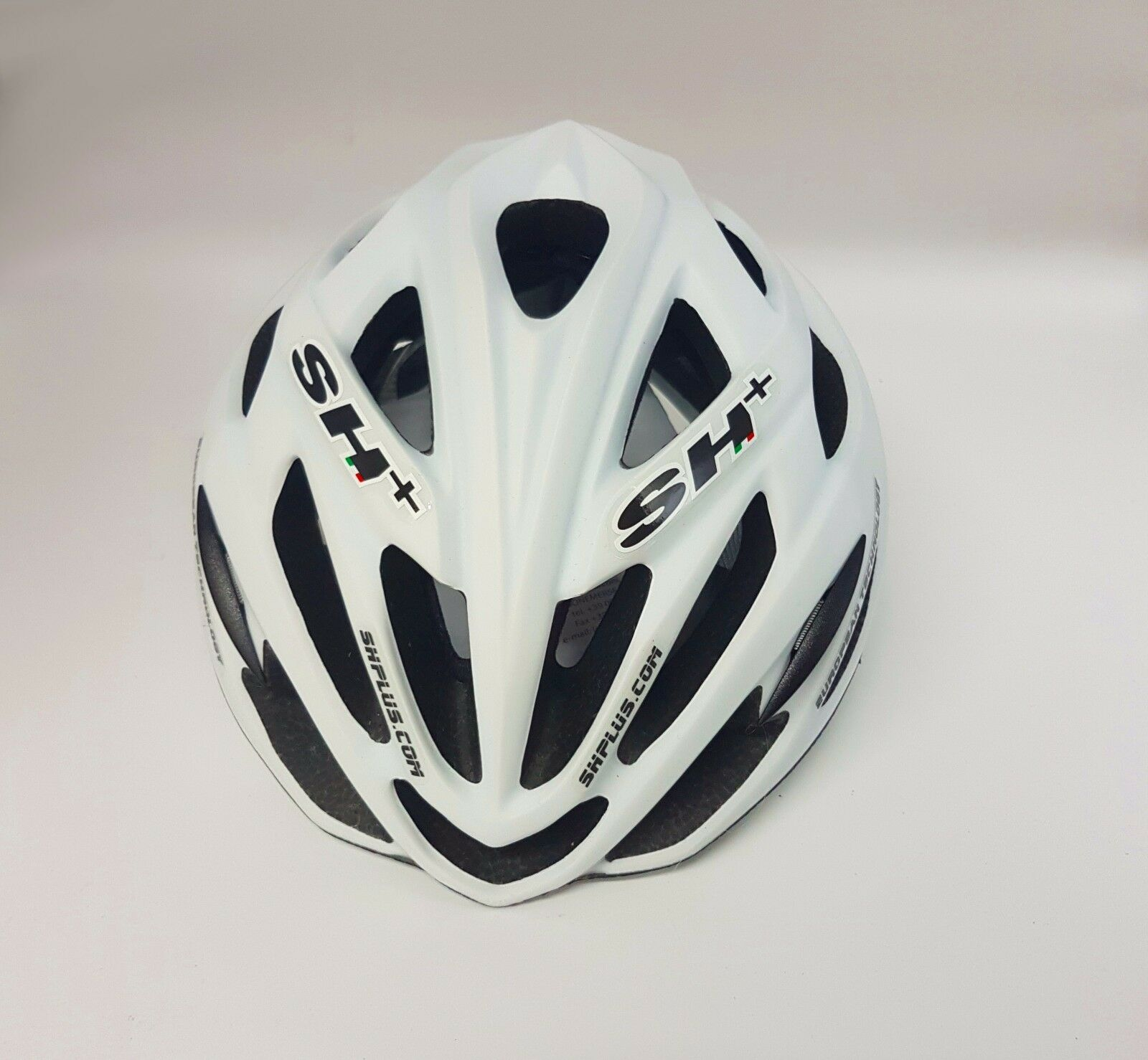 SH+  Shabli  Safety Road Cycling Bicycle Helmet Matt  White 55-60cm  at the lowest price