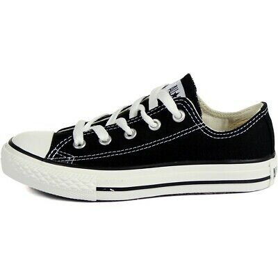 Converse Chuck Taylor All Star Ox Big Kids//Little Kids Shoes Black//White 609057c