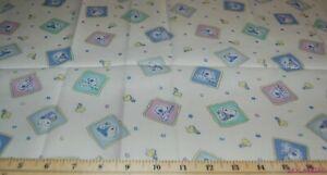 FQ-Vtg-HTF-OOP-Baby-Snoopy-Blocks-Ctn-Fabric-18-034-Lx22-034-W-BTFQ