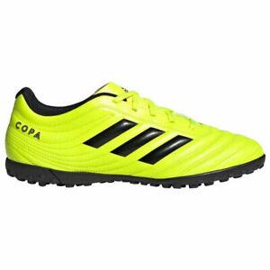 Dettagli su Scarpe calcetto ADIDAS COPA 19.4 TF F35483 YELLOW FOOTBALL STYLE NO MUNDIAL