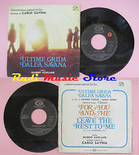 LP 45 7'' GILBERT KOPLAND for you and me Leave rest to me CARLO SAVINA*cd mc dvd