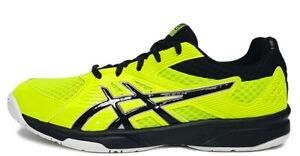 ASICS UPCOURT 3 Homme Indoor Chaussures De Sport Badminton Squash Lime Neuf avec étiquettes 1071A019-750