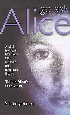 Go Ask Alice by Anonymous, Acceptable Book (Paperback) FREE & Fast Delivery!