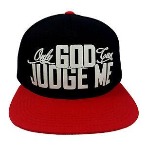 FLOCK ONLY GOD CAN JUDGE ME BLACK//WHITE Snapback Cap