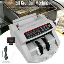 Money Counter Usd Bill Cash Currency Counting Machine Uv Mg Counterfeit Detector
