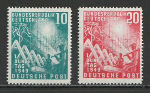 GERMANY-1949-Opening-of-the-first-Federal-Assembly-MNH