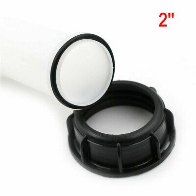 2/'/' Extension Drain Spout Hose 1000L IBC Water Tank Nozzle Tap Cap Valve fitting