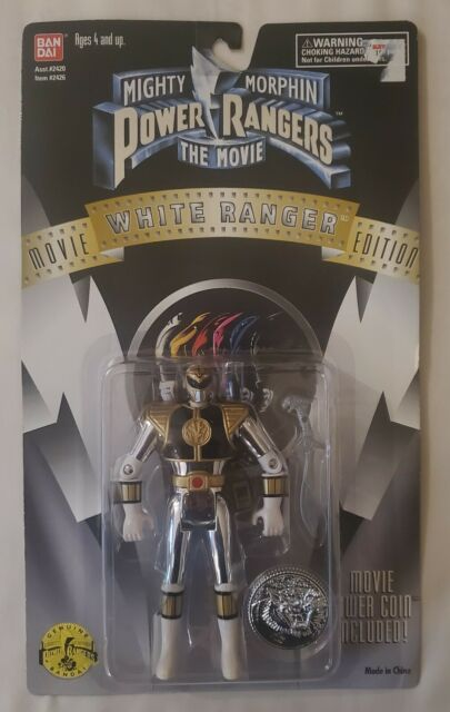 Mighty Morphin Power Rangers The White Ranger Movie Edition 1995 Bandai Tommy