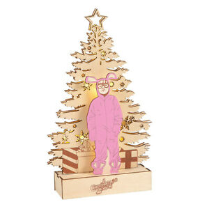 Dept 56 A Christmas Story Lite Up Ralphie The Pink Nightmare New