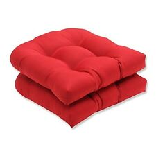 Item 3 Seat Pillow Cushions Indoor Outdoor Patio Chair Pads Red Solid  Wicker In 2 Pack  Seat Pillow Cushions Indoor Outdoor Patio Chair Pads Red  Solid ...