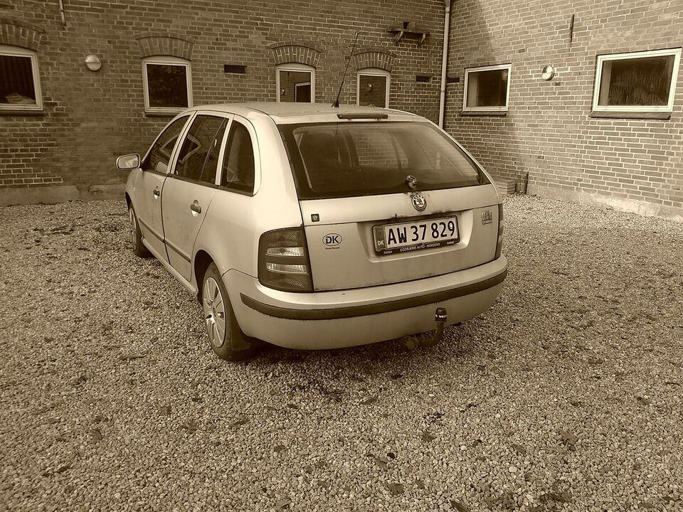 Skoda Fabia, 1,4 TDi 75 Comfort Combi, Diesel