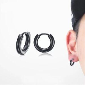 orecchini-a-piccoli-neri-donna-uomo-tondi-cerchio-spessi-nero-orecchino-cerchi