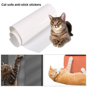 6-stk-Haustier-Katze-Kratzschutz-Matte-Katze-Kratzbaum-Moebel-Sofa-Protector-Neu