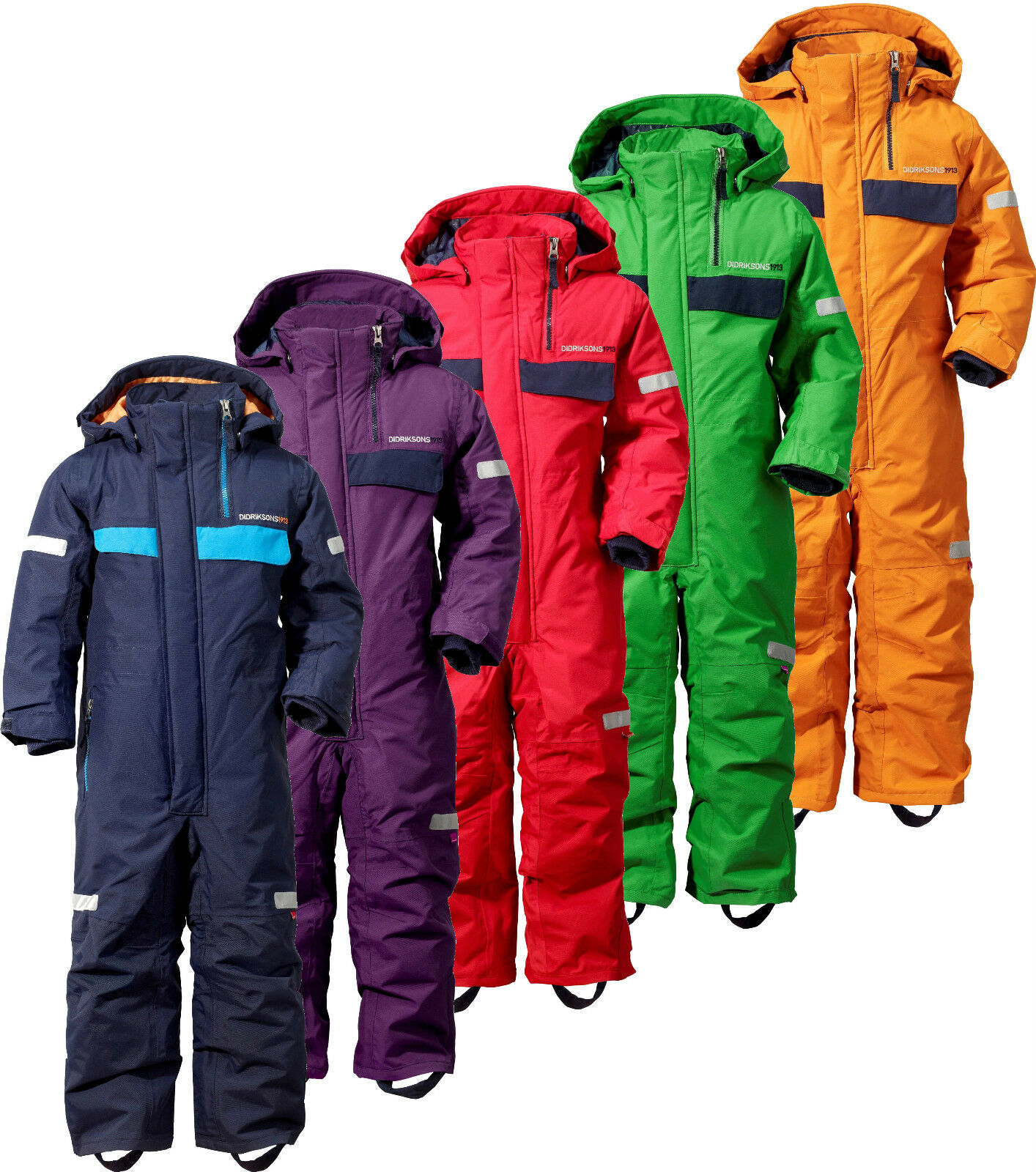 Didriksons Cornelius Kids Coverall Snowsuit