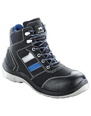 Bullstar Sicherheitsschuh Arbeitsschuh Sprint S1p kornblau-schwarz Gr 42