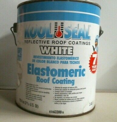 Kool Seal Reflective Roof Coating White Elastomeric Roof ...