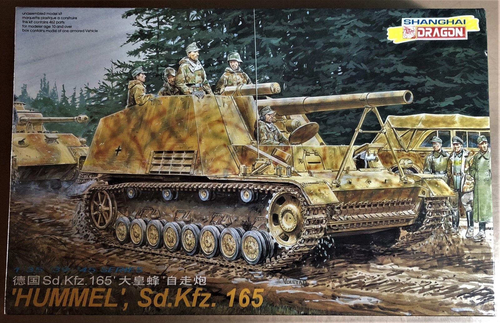 DRAGON 6004 - 'HUMMEL' Sd.Kfz. 165 - 1 35 PLASTIC KIT