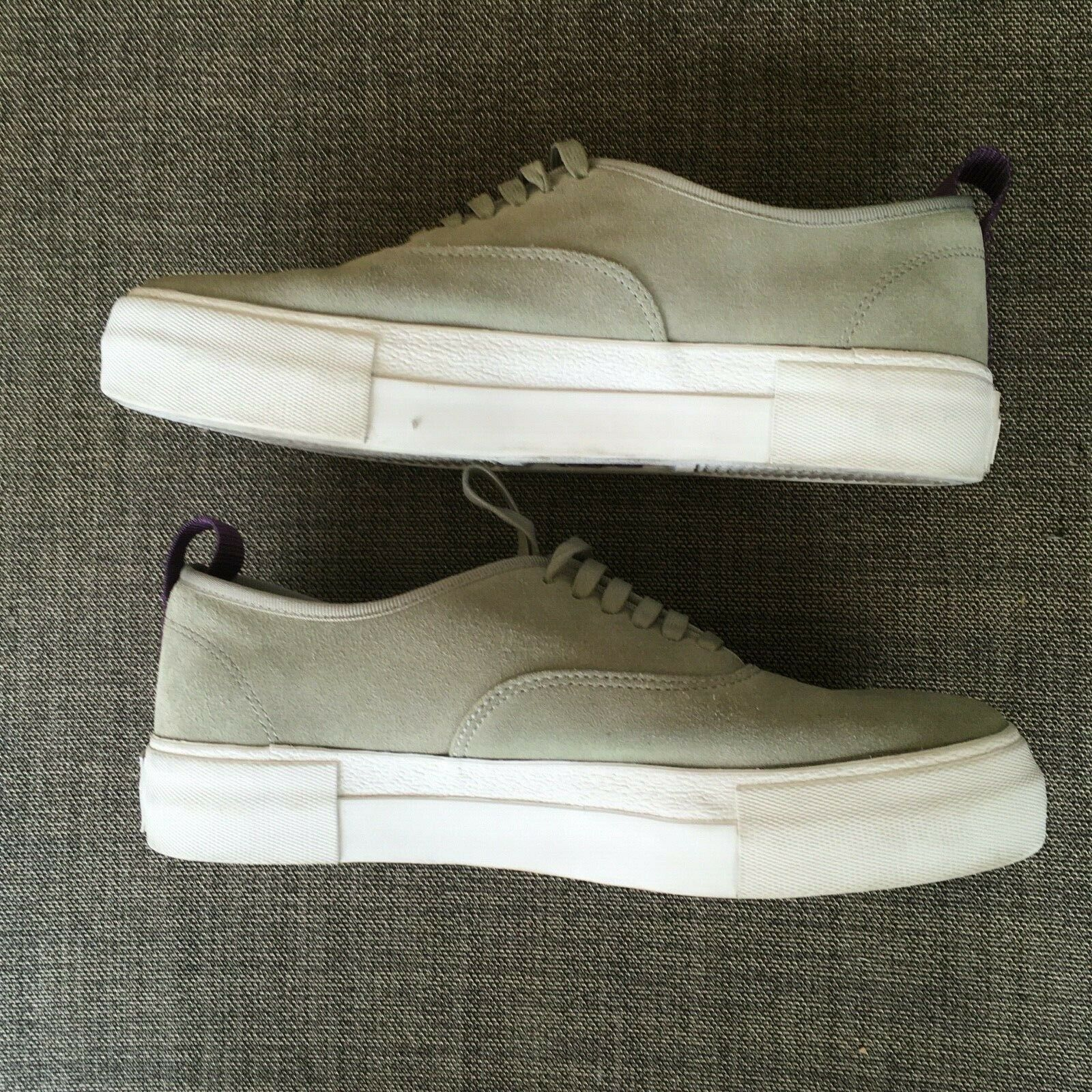 EYtys Mens Suede Skateboard Style Sneakers Gray S… - image 12