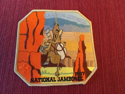 2017 NATIONAL JAMBOREE GRAND CANYON COUNCIL CENTER PIECE