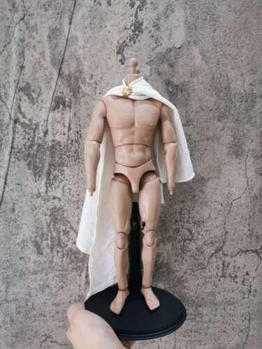 "1:6 Figure Accessory white ancient soldier Cloak Cape For 12/"" Male /& Female Doll"