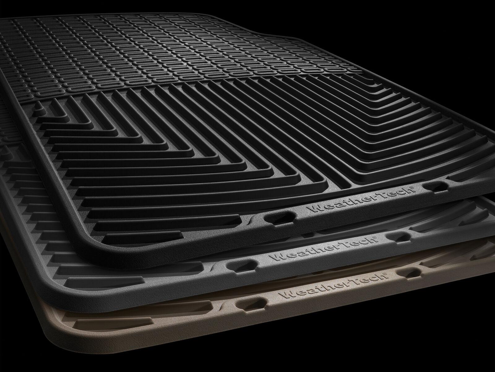 Floor Mat Tan Rubber WTCT291129 Front//Rear WeatherTech