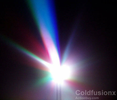 50x 10mm 3 colors LED Disco Light great for parties!