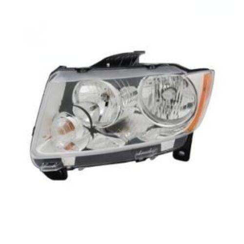 FITS JEEP GRAND CHEROKEE 2011 2012 HEADLIGHT HEAD LIGHT  LAMP LEFT DRIVER