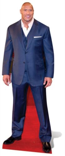Standup actor Standee Dwayne Johnson LIFESIZE CARDBOARD CUTOUT