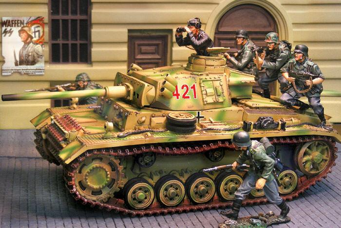 THE COLLECTORS SHOWCASE WW2 GERMAN NORMANDY CS00695 PZKPFW III M TANK MIB
