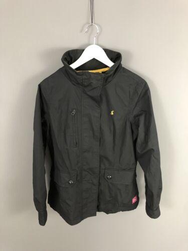 Black Uk10 Condition Showeproof Jacket Women's Hooded Joules Great IgwtTt