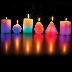 Cire Magic Candle Changing Colour Del Lumières Bougies Parfumées Cire Véritable Long Wick-afficher Le Titre D'origine Des Biens De Chaque Description Sont Disponibles