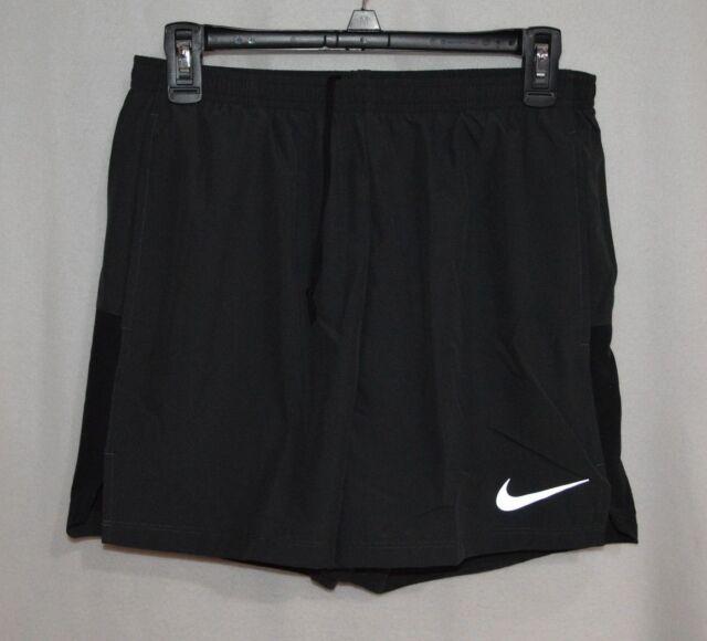 "Nike Men/'s Flex Challenger 7/""  2-in-1 Black Running Shorts AO8561-010 S//M//XL//XXL"