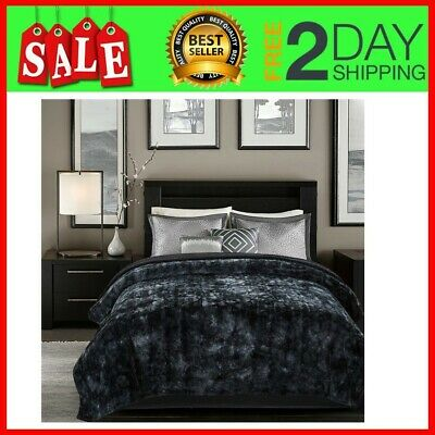 Super King Size Comforter Gray Super Soft Fuzzy Fur Faux Cozy Warm Fluffy Bed Blanket 817797022401 Ebay Dailytribune Chair Design For Home Dailytribuneorg