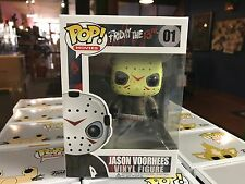 2017 Funko POP! Horror Movies Friday the 13th JASON VOORHEES 01 Vinyl Figure MIB
