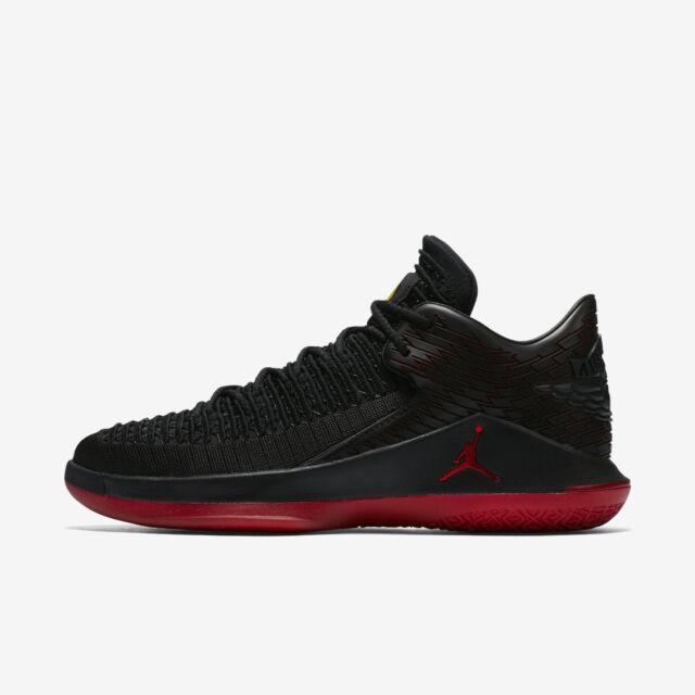 Nike Air Jordan XXXII 32 Low Last Shot Black Gym Red Sz 12 Basketbal Aa1256  003 for sale online  9f0f64188