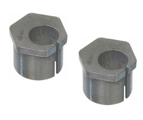 Pair Set 2 Front Alignment Caster Camber Bushings for F350 S Duty Mazda Moog