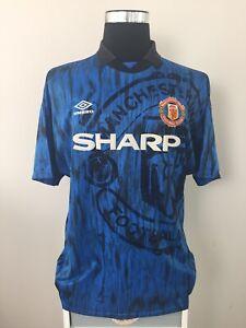 Manchester United Away Football Shirt Jersey 1992/93 (XL)