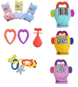 Gummee Glove Link   Teethe Molar Mallet Anti Scratch Mitts Baby ... 41da833f668