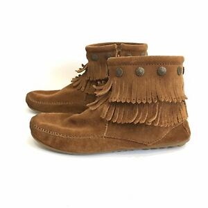 MINNETONKA MOCCASIN BOOTS Ankle Bootie