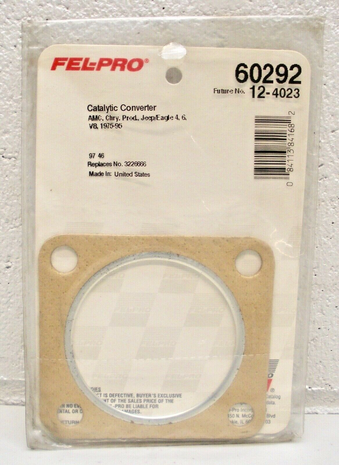 Exhaust Pipe Flange Gasket Fel-Pro 60292